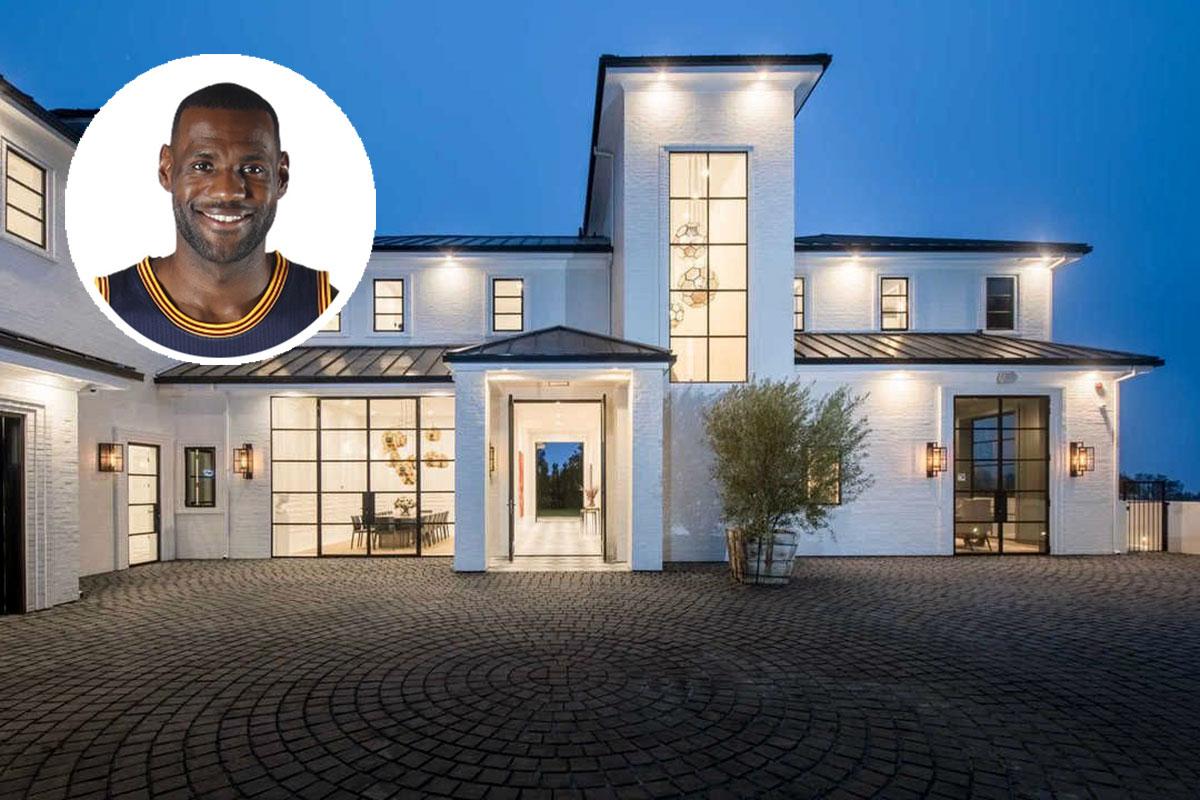 La nueva mansión de LeBron James