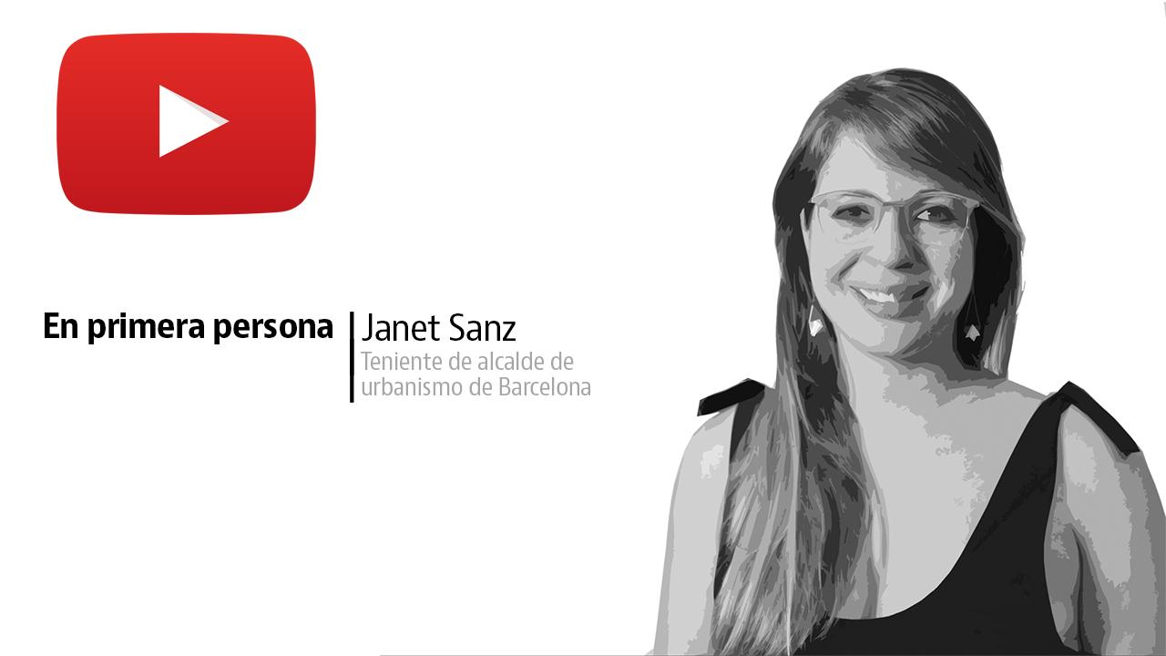 """Janet Sanz: """"La oferta actual de alojamientos turísticos en Barcelona es capaz de absorber la demanda de visitantes de la ciudad"""