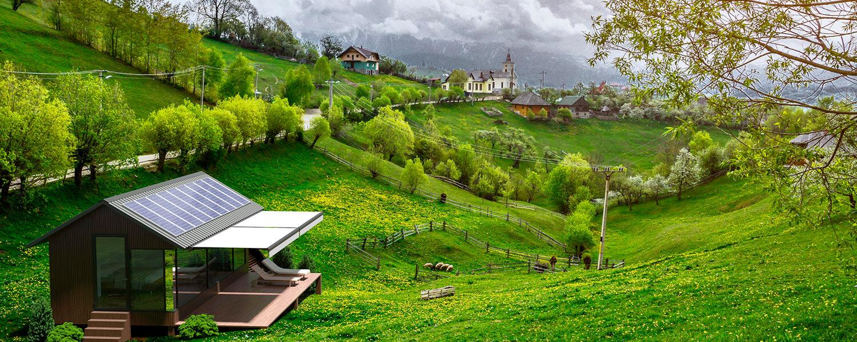 Una vivienda ideal para disfrutar de la naturaleza