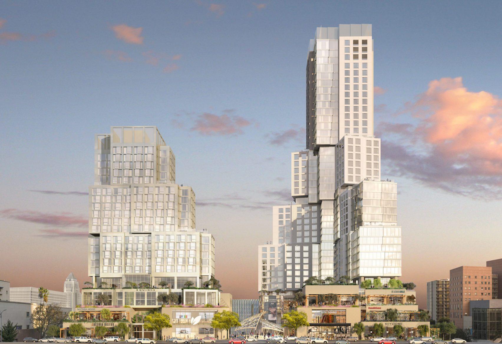 El complejo está formado por varios edificios