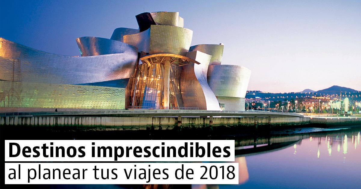 5 ciudades para visitar en el 2018