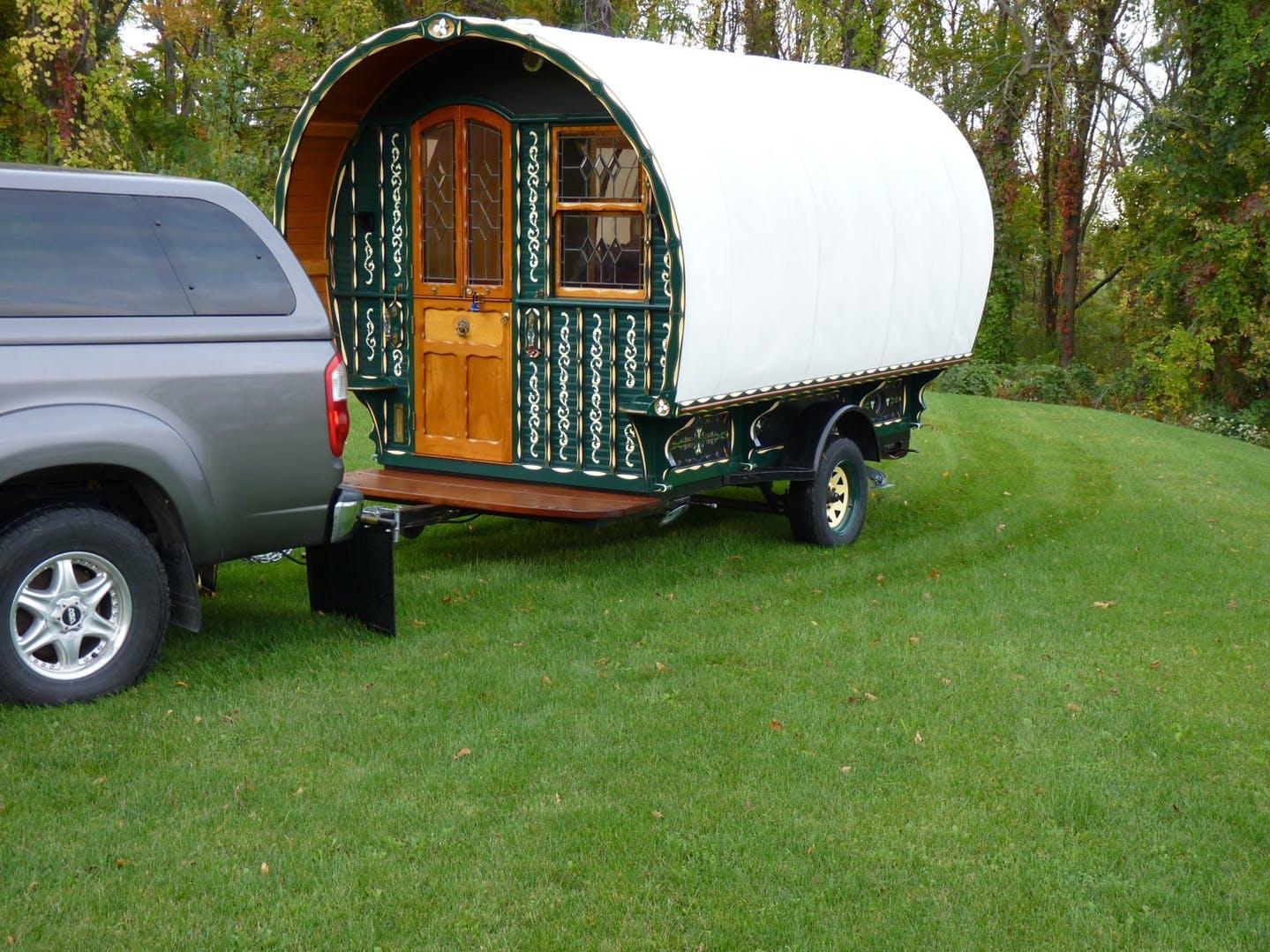 Para viajar de camping o de 'glamping'