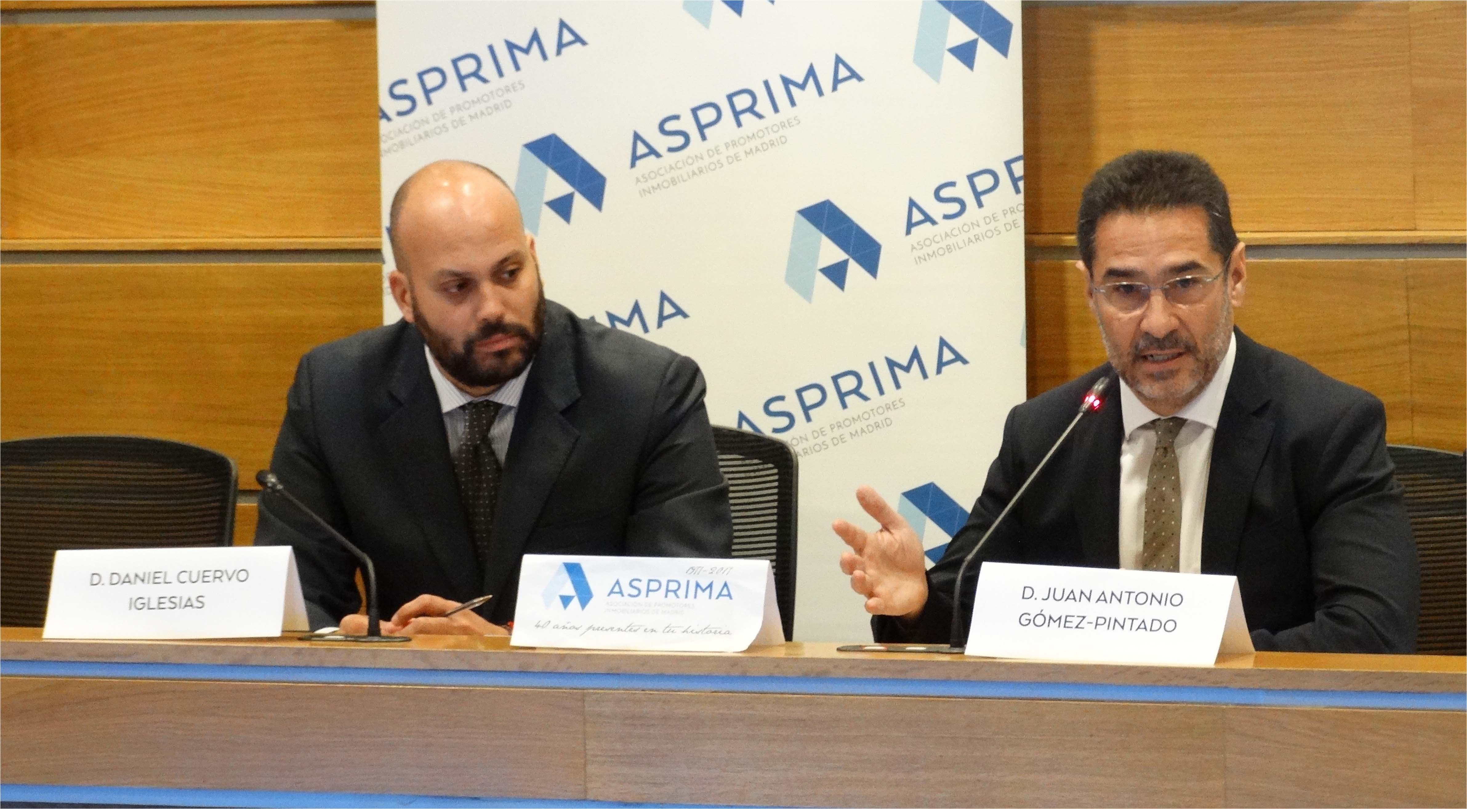 Daniel Cuervo (izqda) y Juan Antonio Gómez-Pintado (dcha.), de Asprima / Asprima
