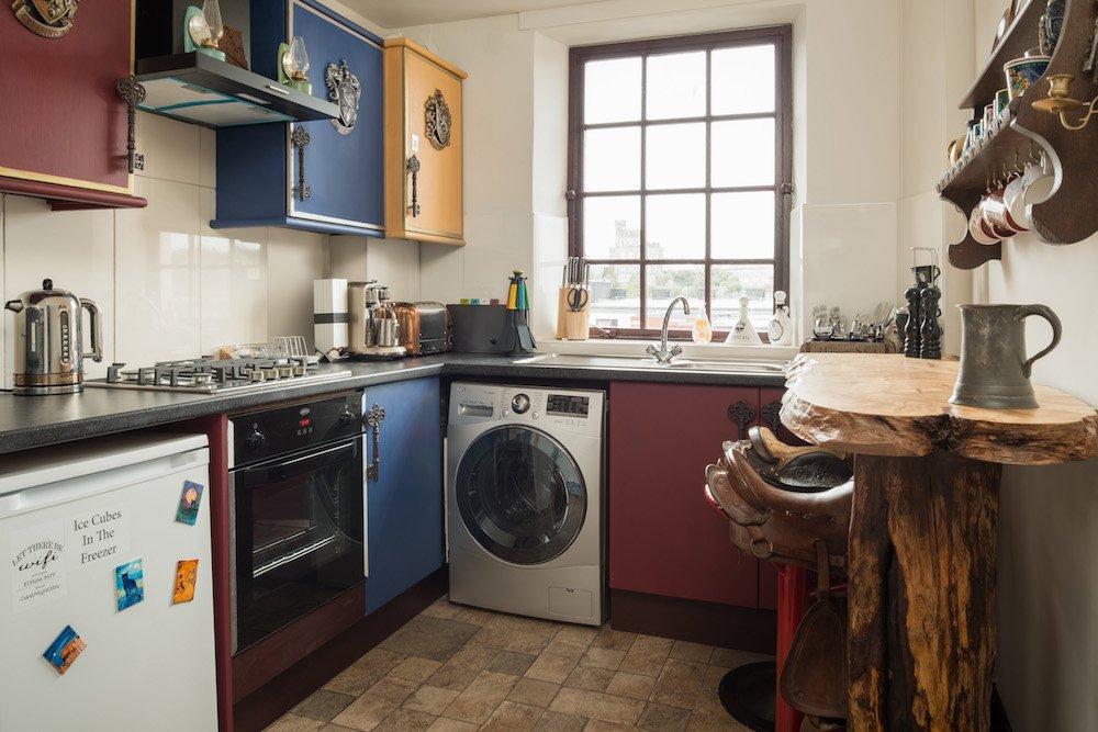Una cocina completa en poco espacio