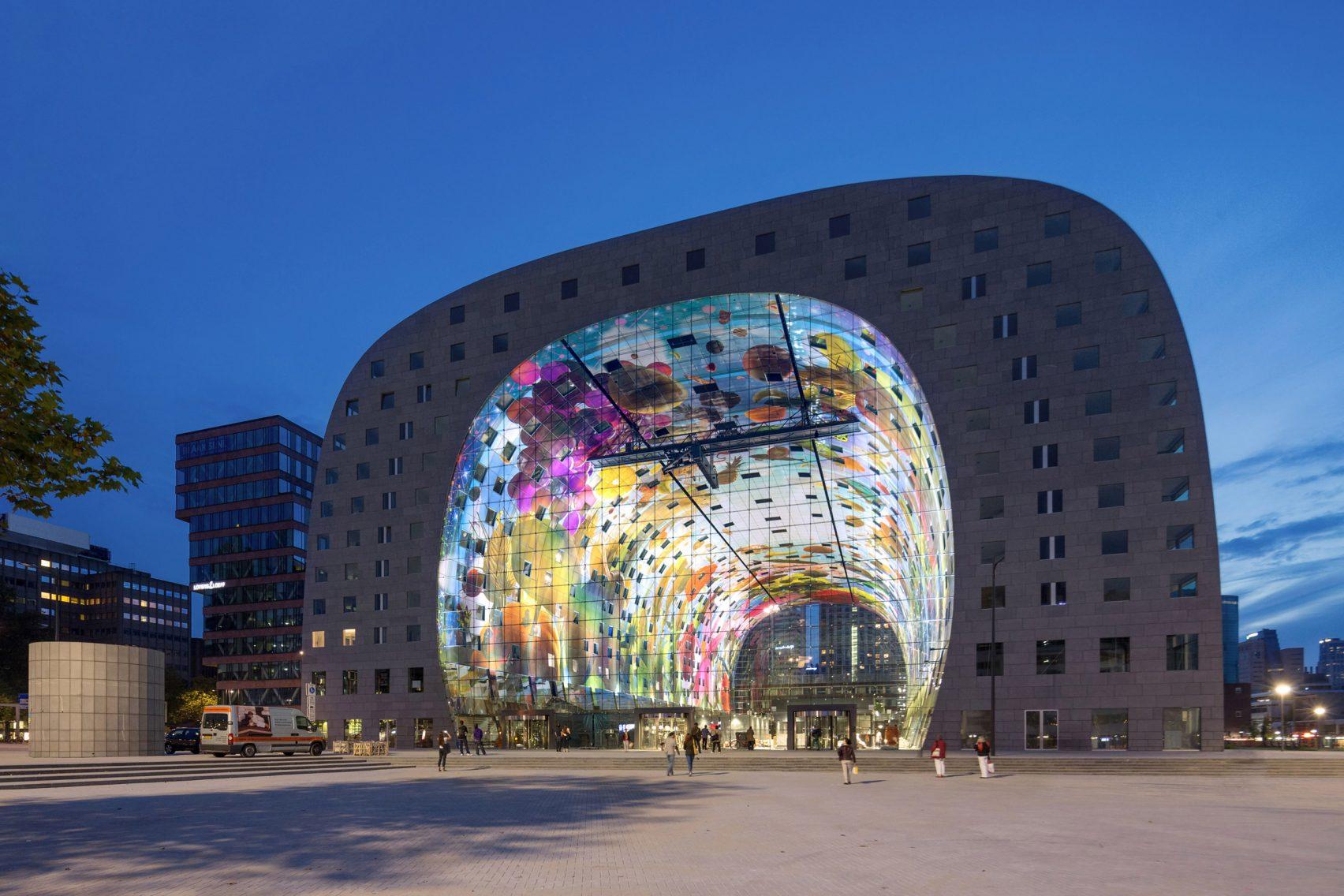 Markthal Rotterdam, Países Bajos