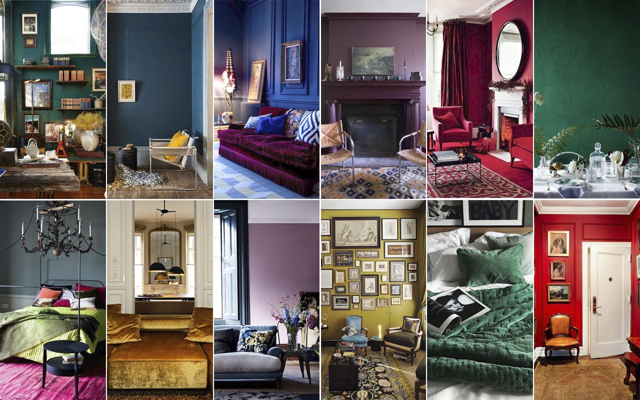 Del púrpura al rubí, cada signo tiene su propio color