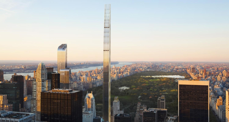 El rascacielos más delgado en pleno Central Park