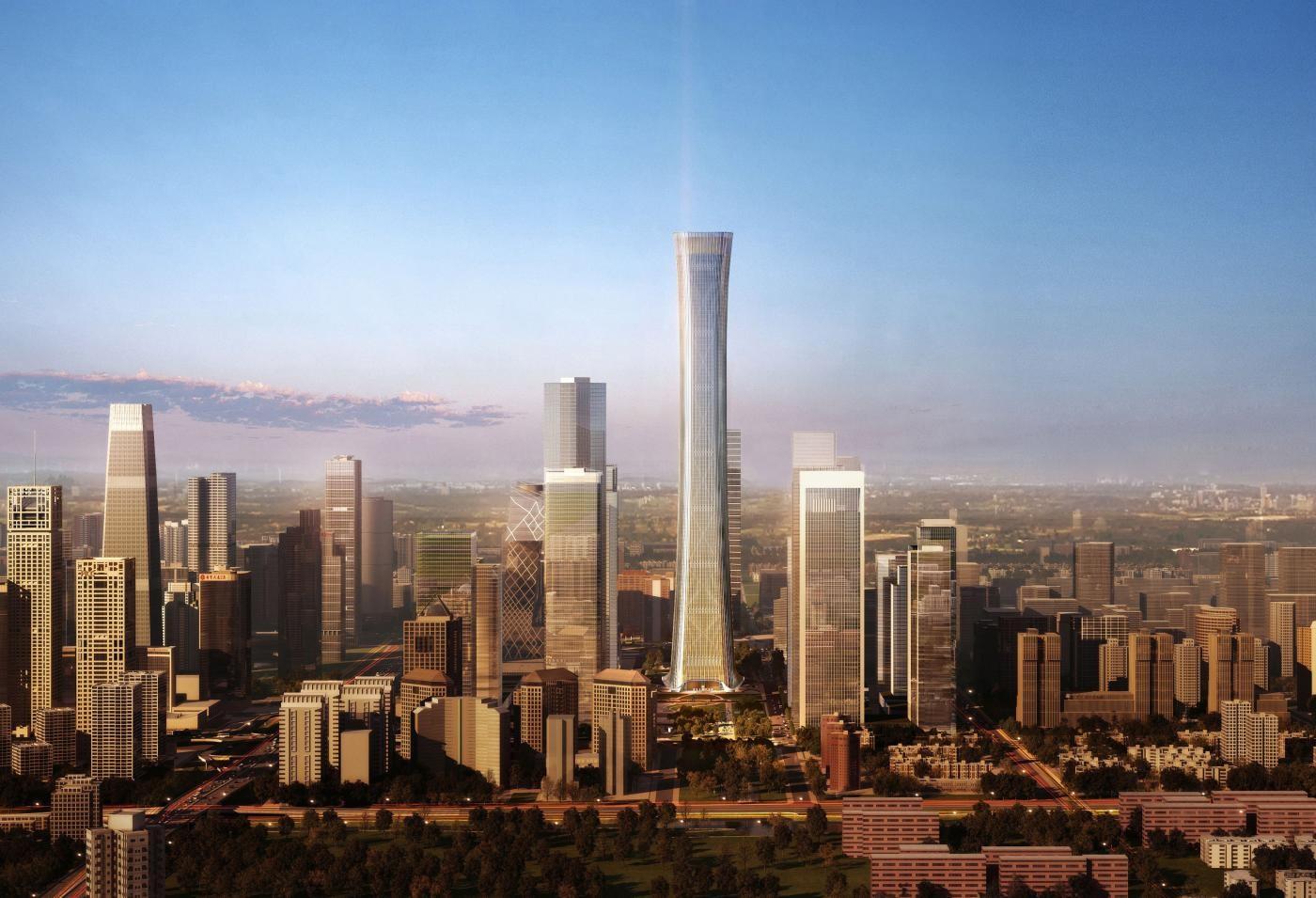 El rascacielos más alto de 2018, en China