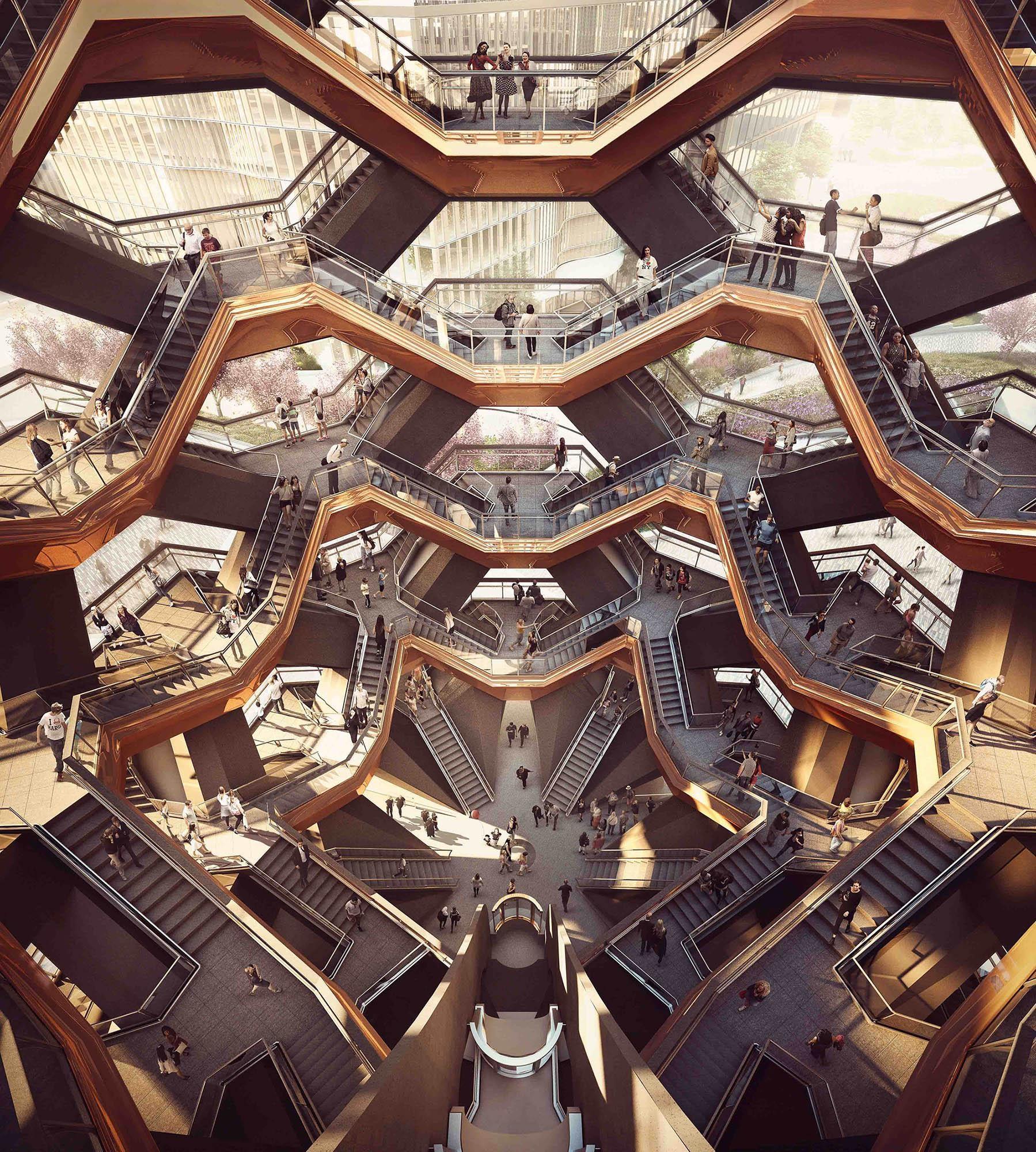 El edificio de las escaleras infinitas