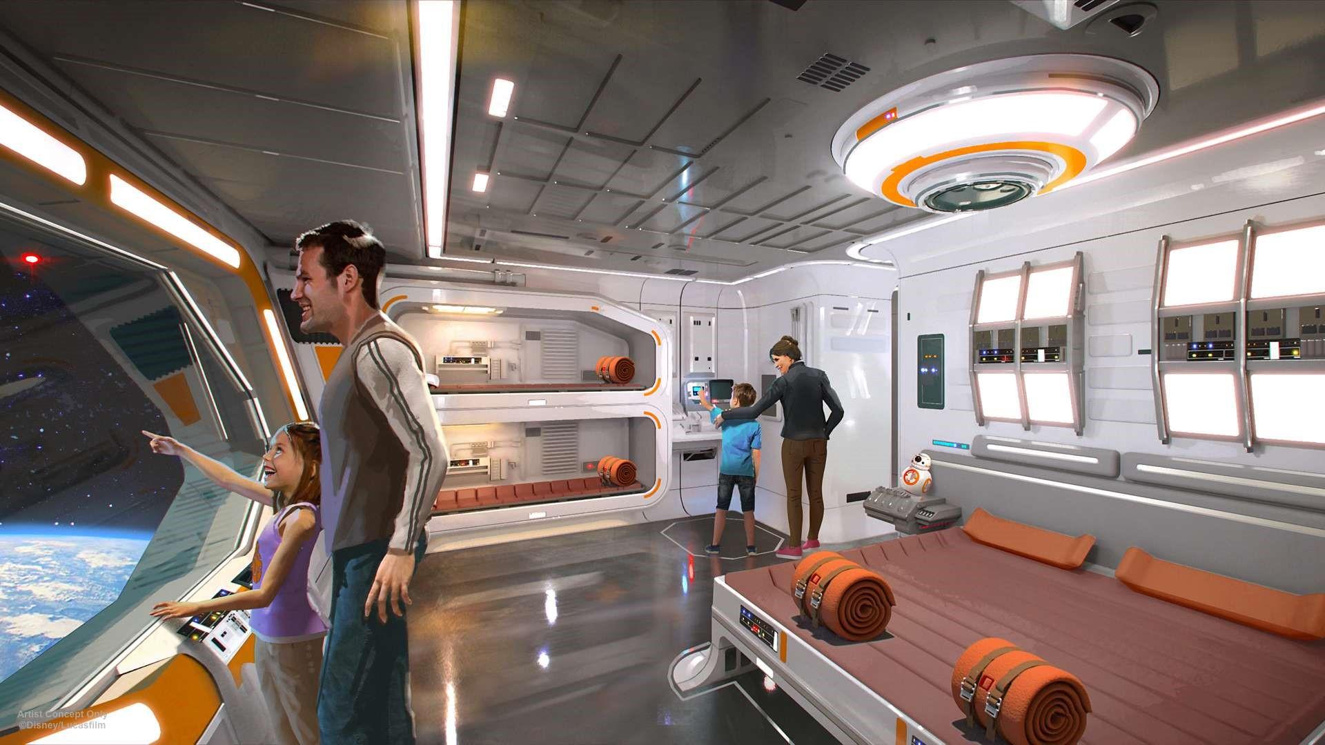 Una nave de 'La guerra de las galaxias'