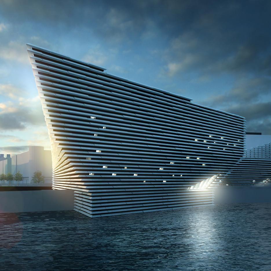 El museo escocés de geometrías desafiantes