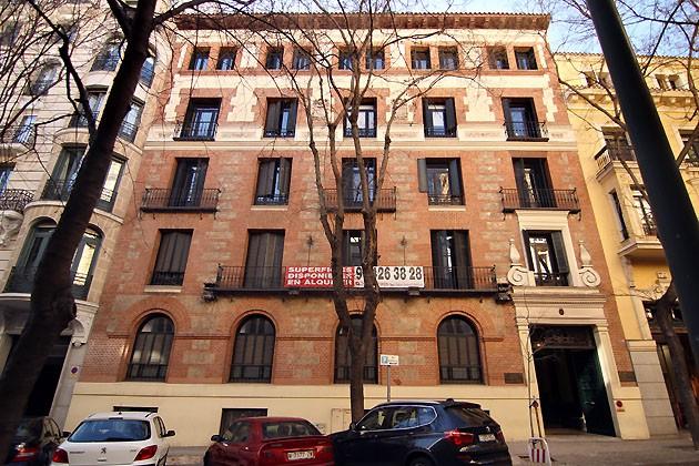 El incendio de la calle fortuny de madrid fue en la obra de este edificio reconvertido en hotel - One shot hotels madrid ...