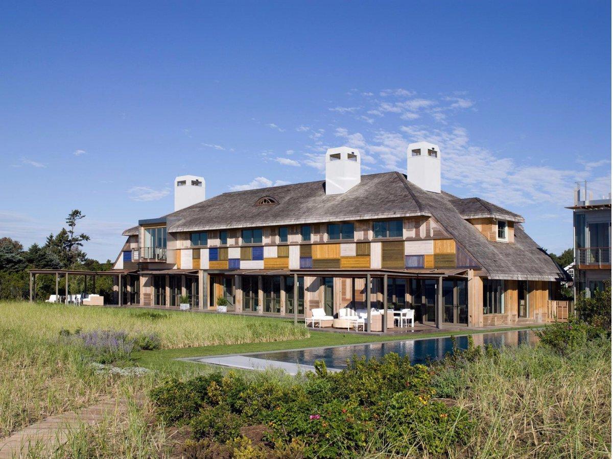 La vivienda ocupa 1.265 m2
