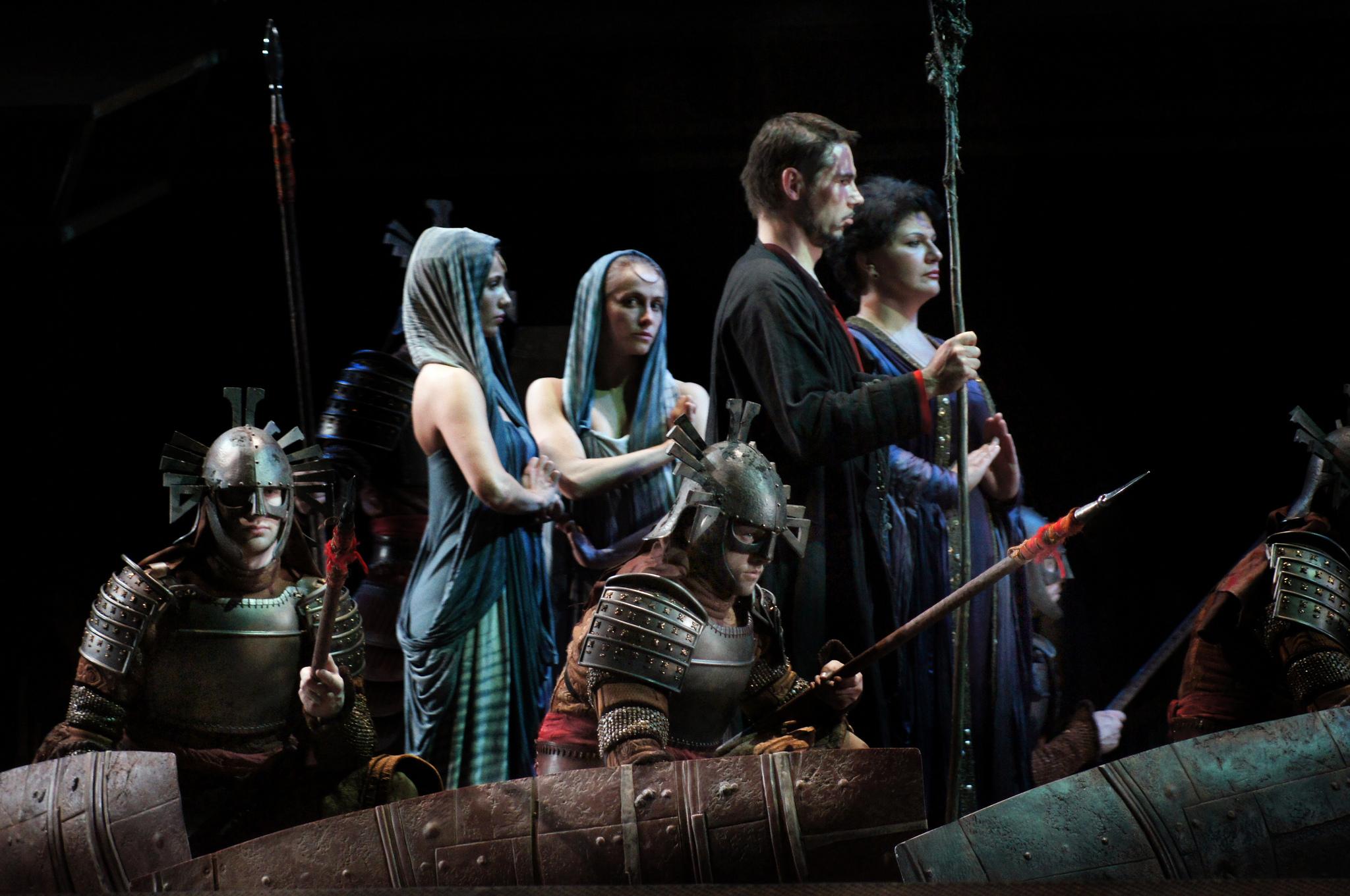 La ópera Aida de Verdi, en el Teatro Real de Madrid