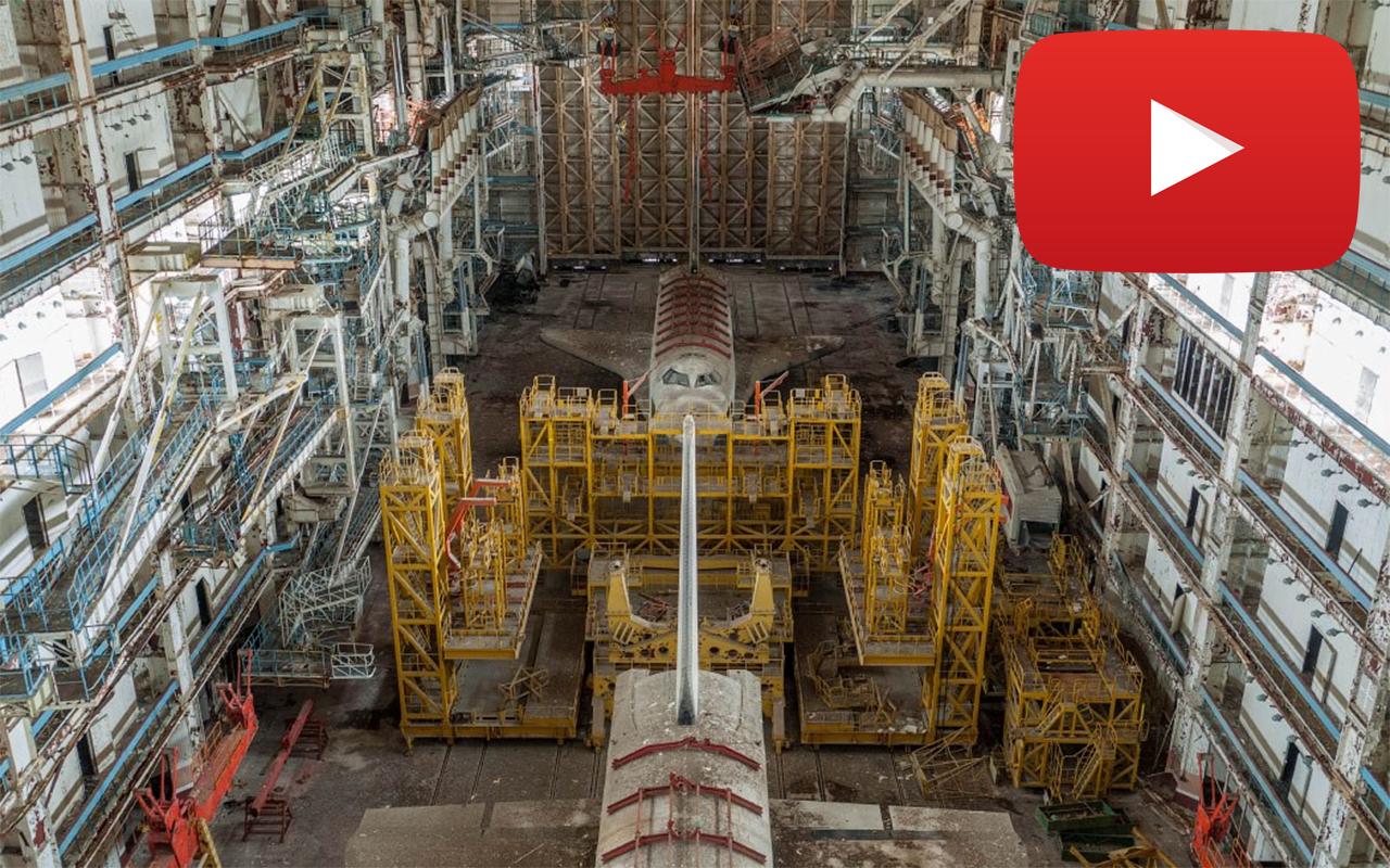 Espectacular vídeo del cosmódromo soviético abandonado