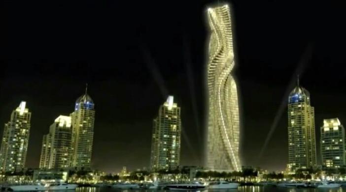 El rascacielos contorsionista