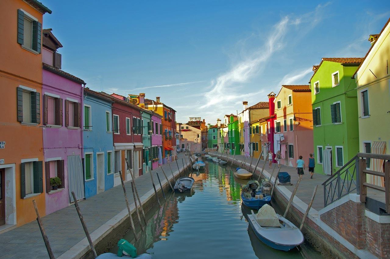 Burano, la isla italiana de pescadores