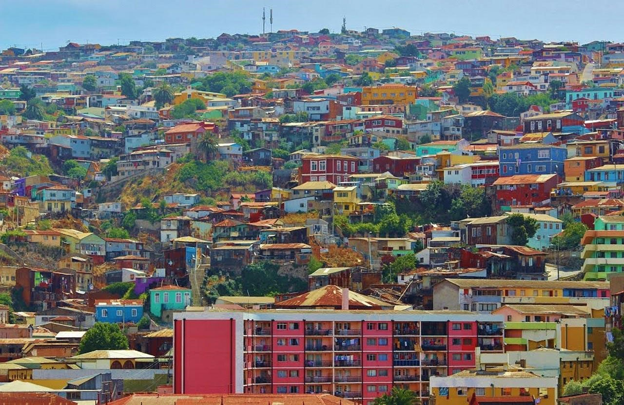 Valparaíso, una paleta de colores