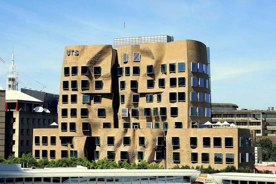 El edificio tortuoso de Sídney