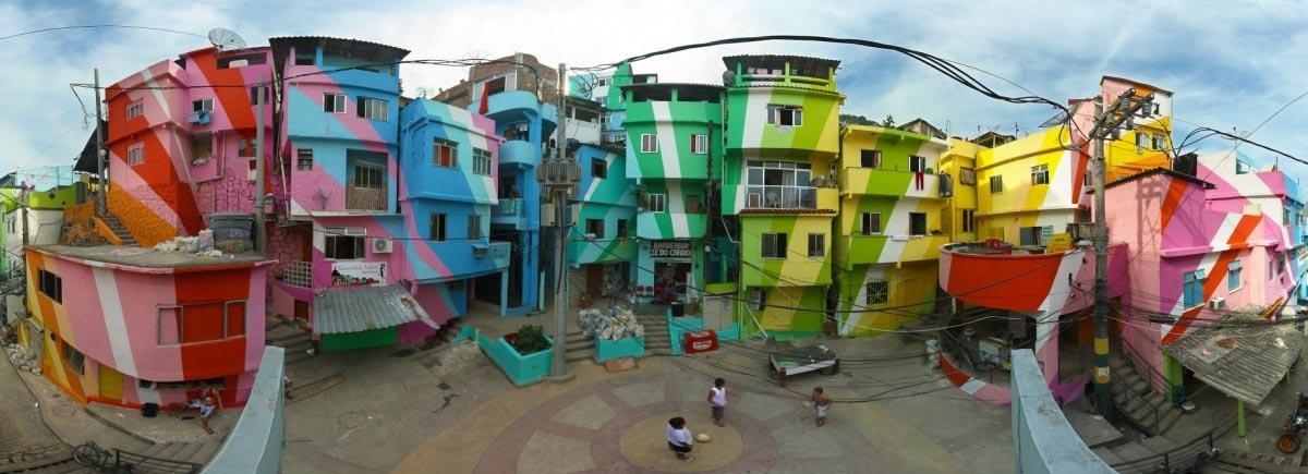 Las favelas artísticas de Río de Janeiro