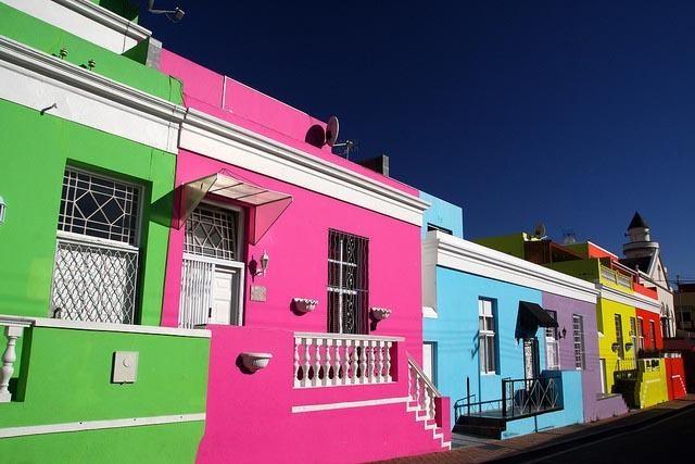 Boo-Kaap, el barrio chillón de Ciudad del Cabo