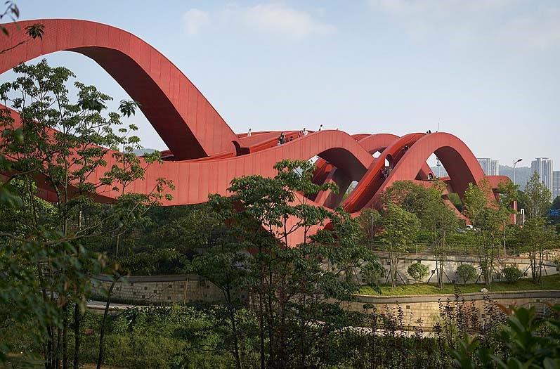 El puente chino de las ondas