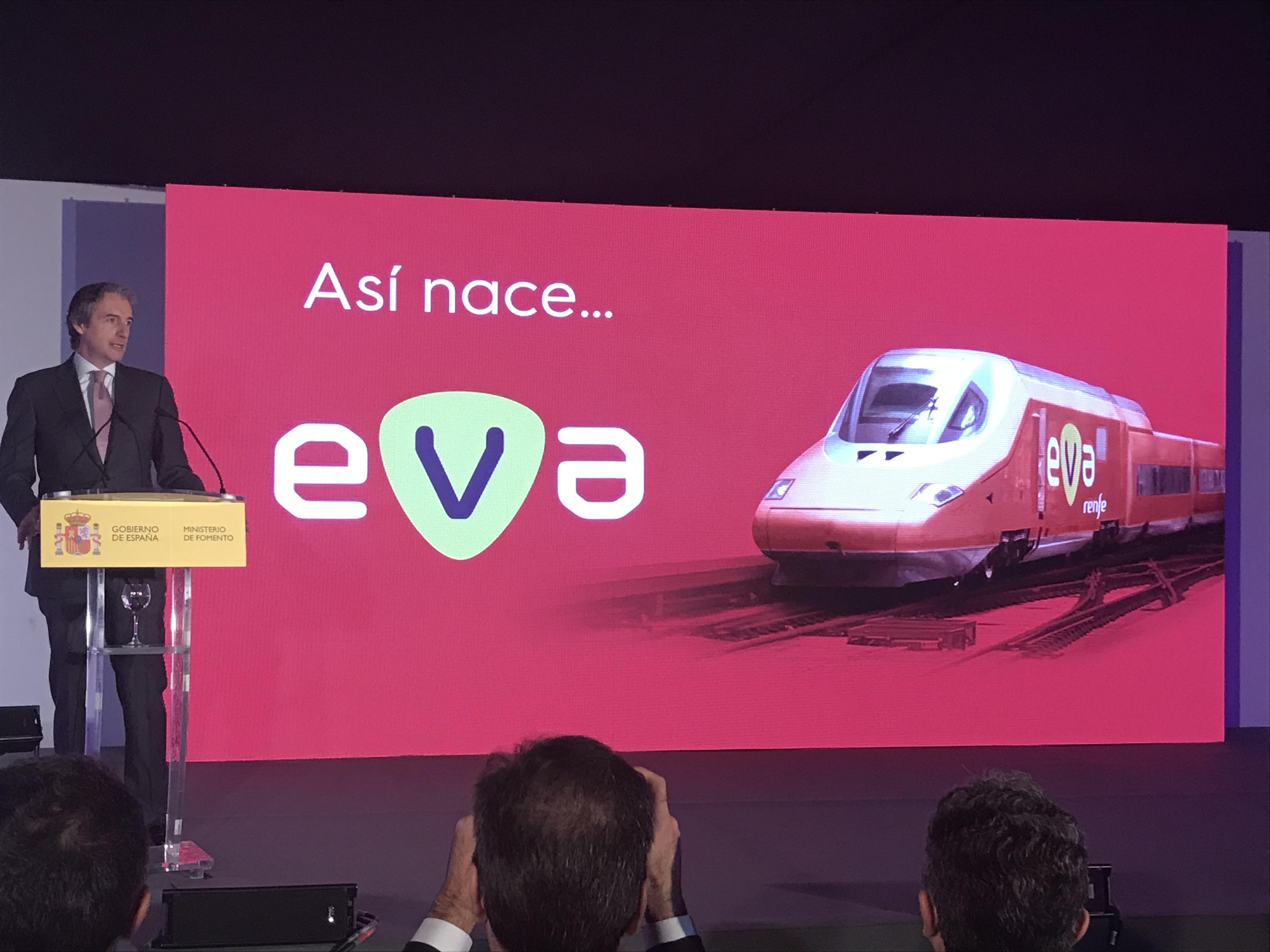 Íñigo de la Serna en la presentación de la nueva línea de alta velocidad / Ministerio de Fomento