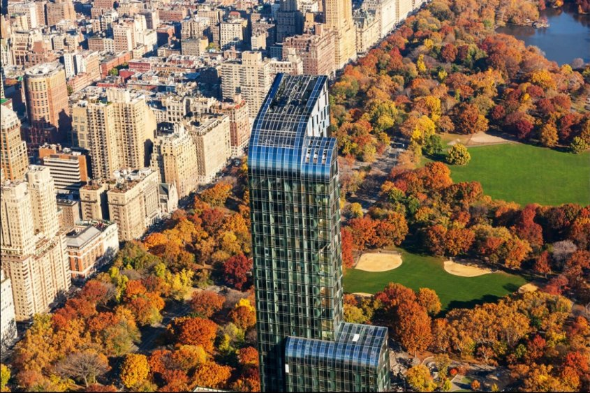 One57 se erige imponente frente a Central Park