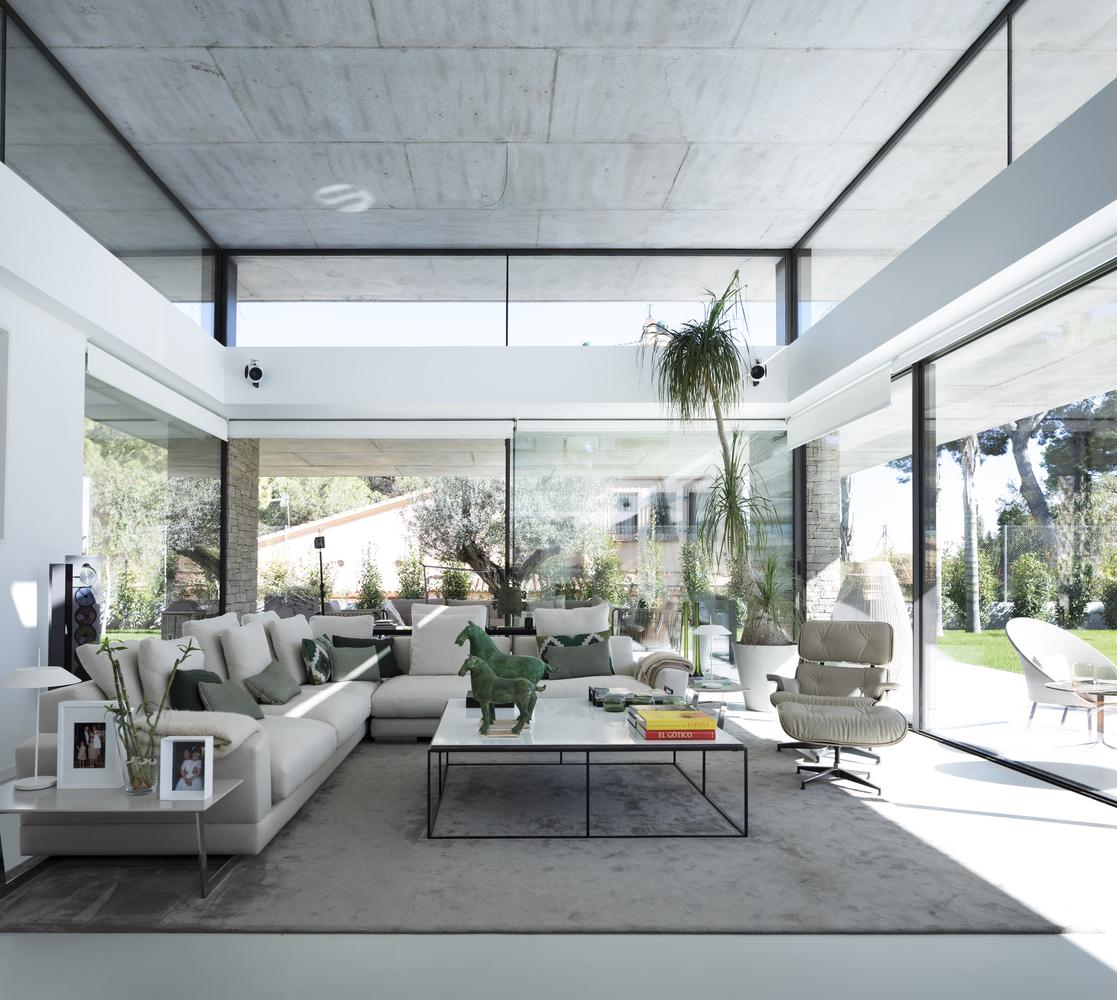 Una casa de 600 m2