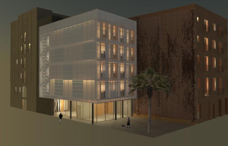 Reproducción del proyecto para el distrito de Ciutat Vella / Ajuntament de Barcelona