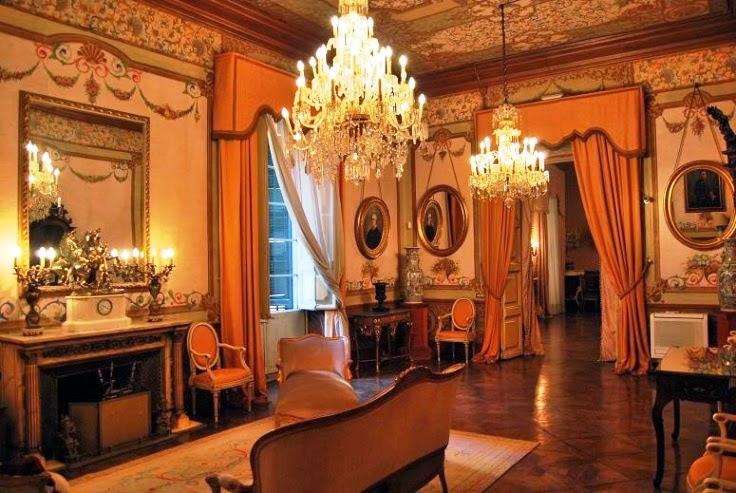 Así lucía antes el salón principal del palacete barroco / Wikimedia commons