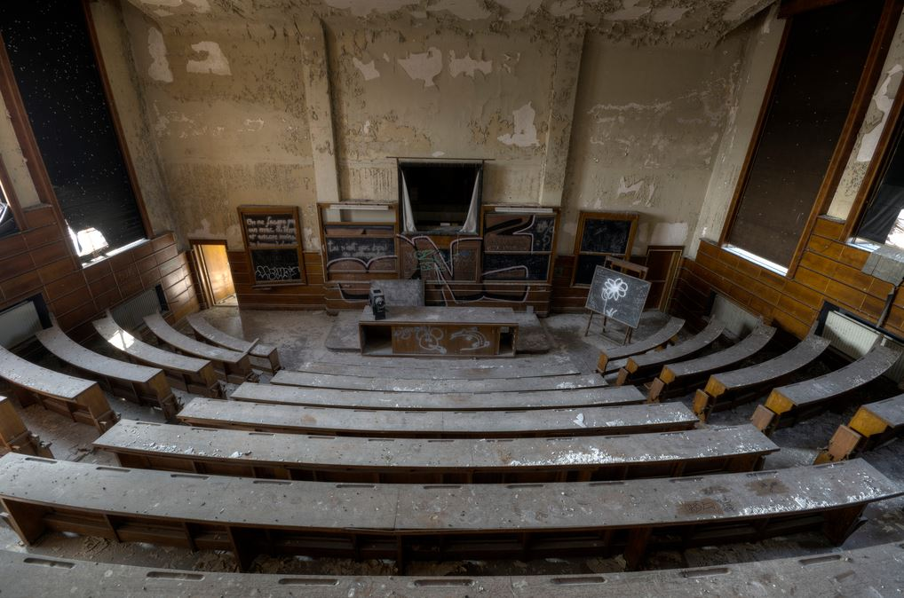 Aula abandonada
