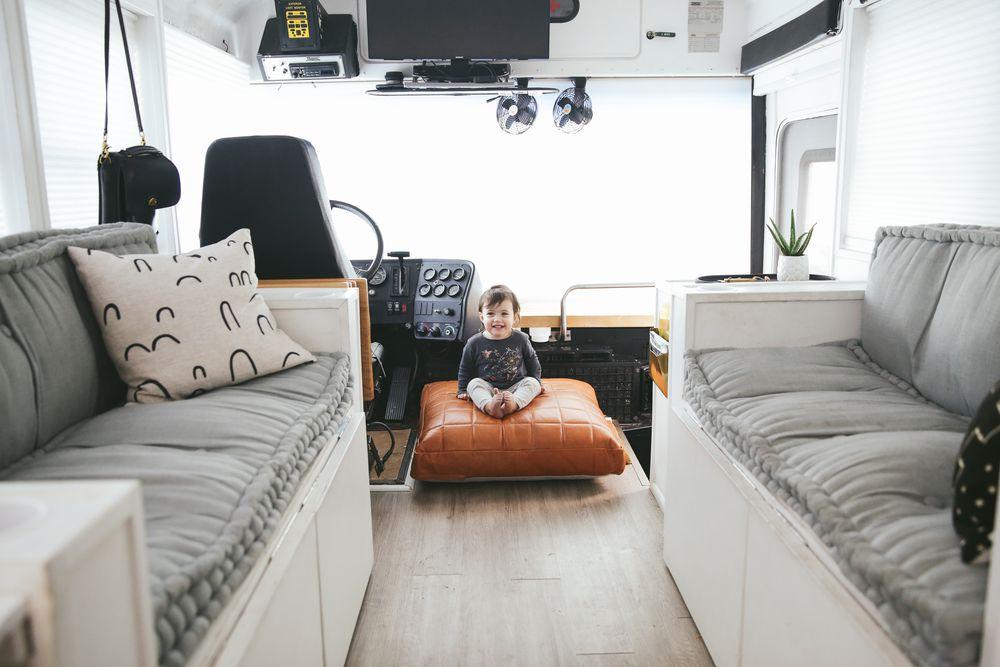 El autobús tiene 23 m2