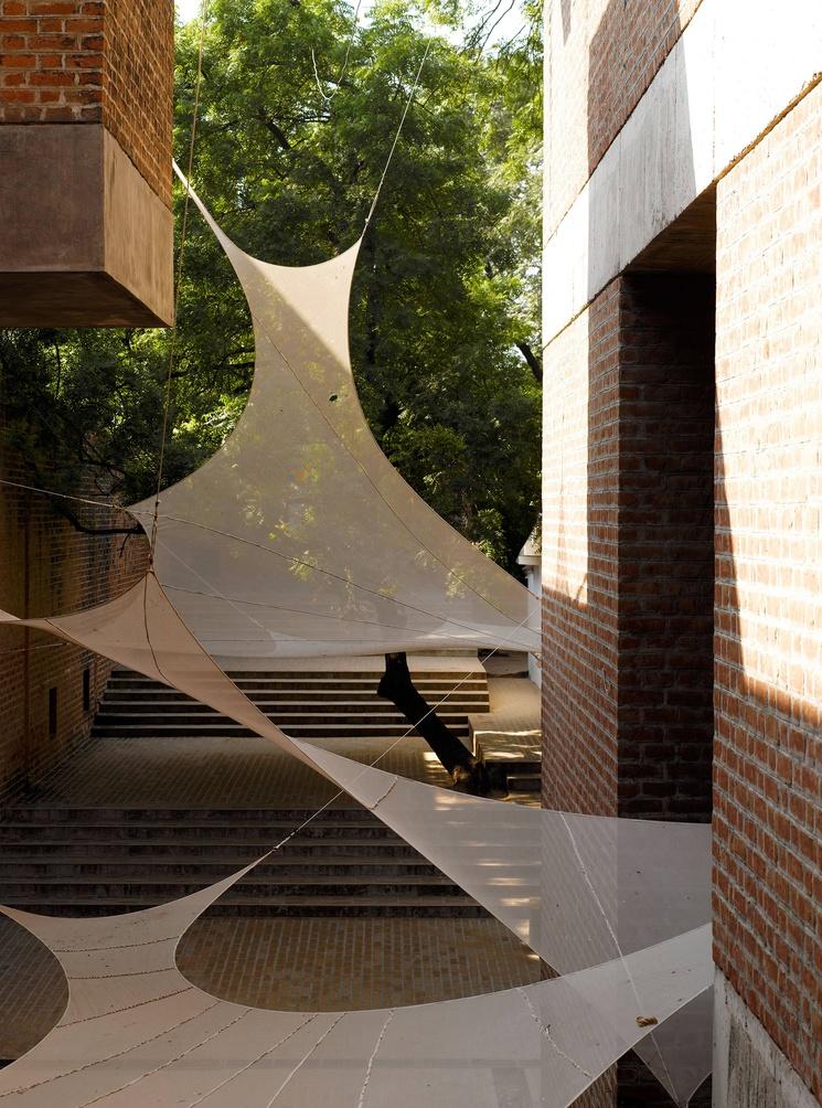 Escuela de Arquitectura Ahmedabad