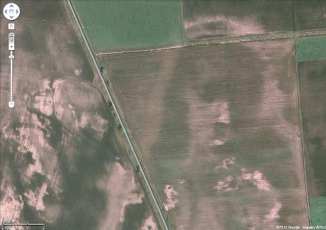 Desapareció de Google Earth, pero se encontraba en Hungría
