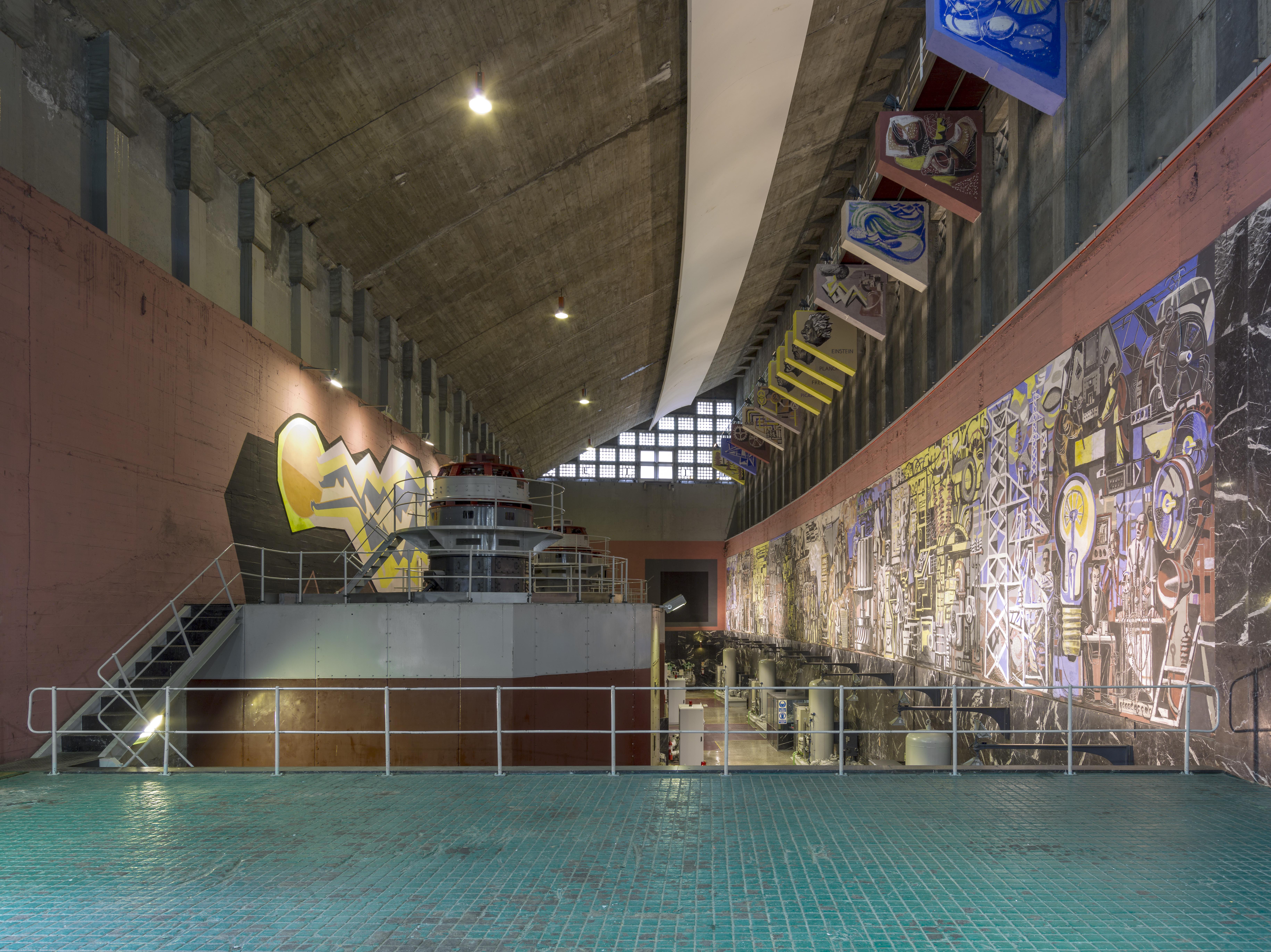 Integración artística en la Central hidroeléctrica de Salime, Asturias
