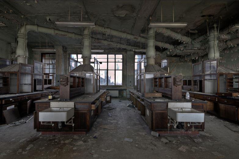 Parece un laboratorio de química