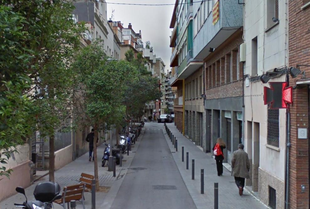 La calle Gleva se encuentra en el barrio de El Putxet i el Farró. / Google Maps