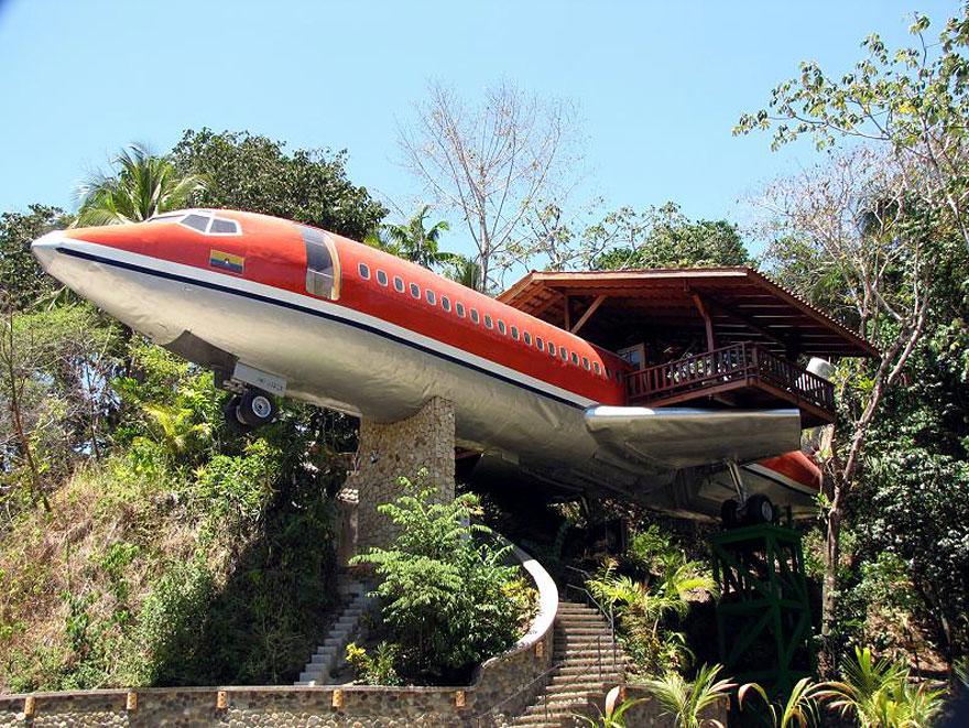 Cabaña Avión