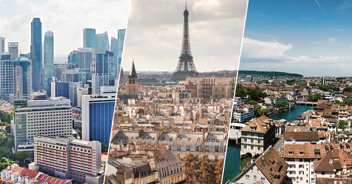 Estas son las 10 ciudades más caras del mundo para vivir
