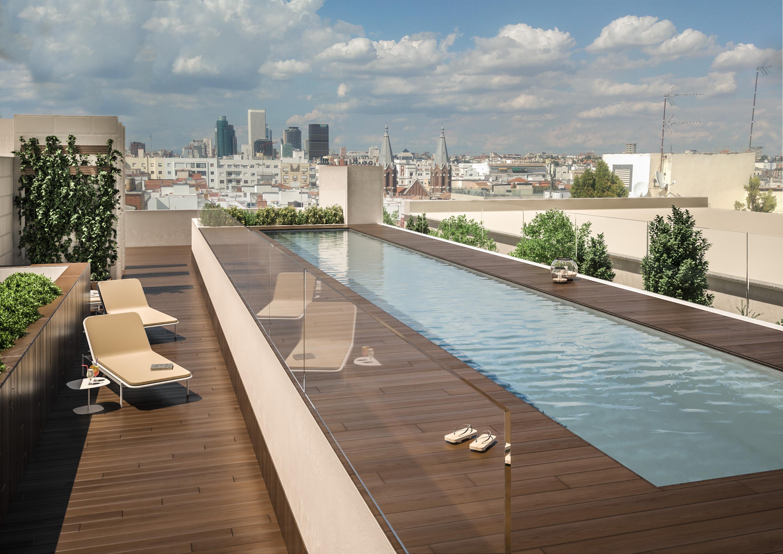 La promoción contará con piscina exterior y climatizada y gimnasio