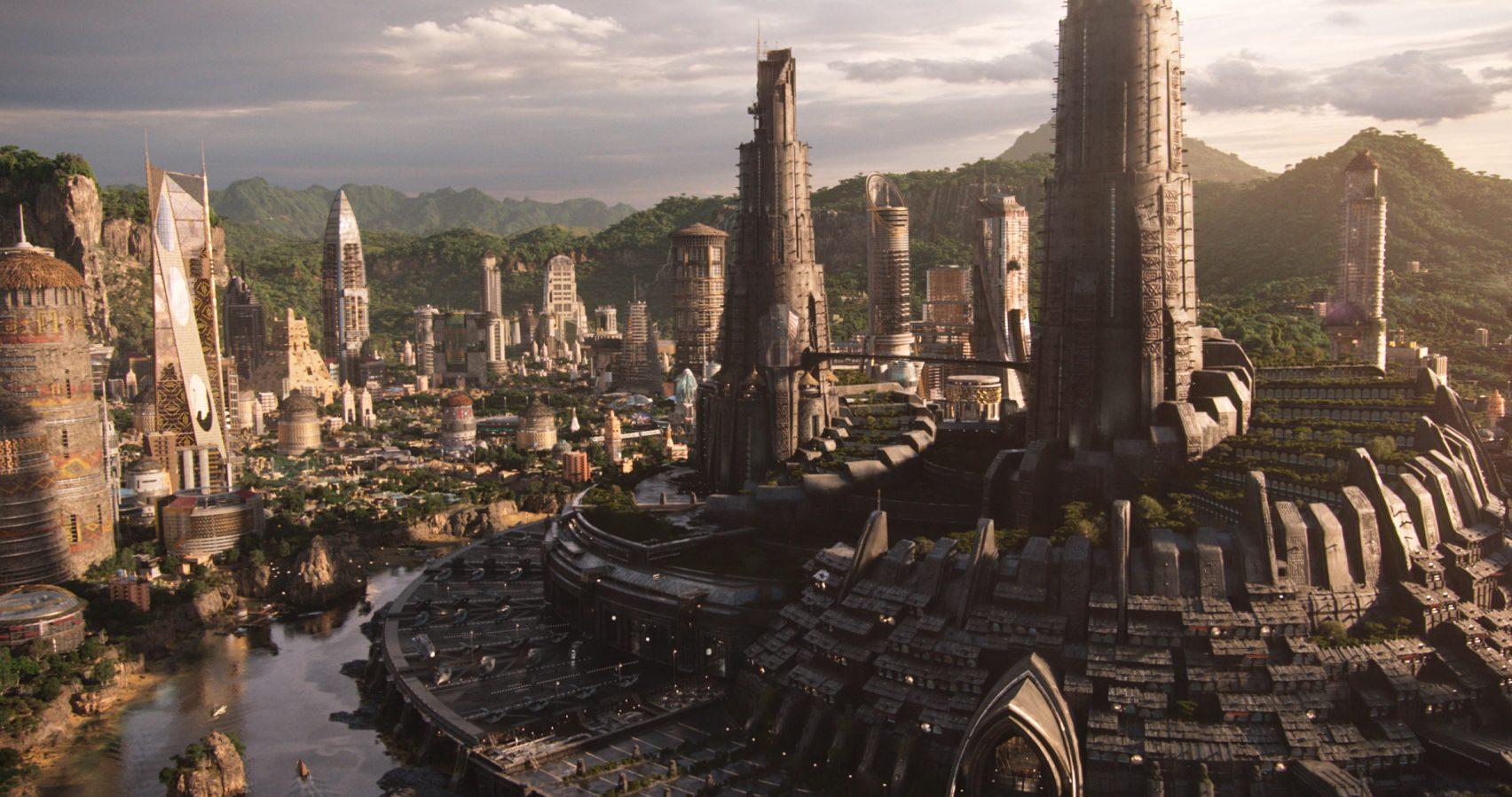 Vista aérea de la Wakanda