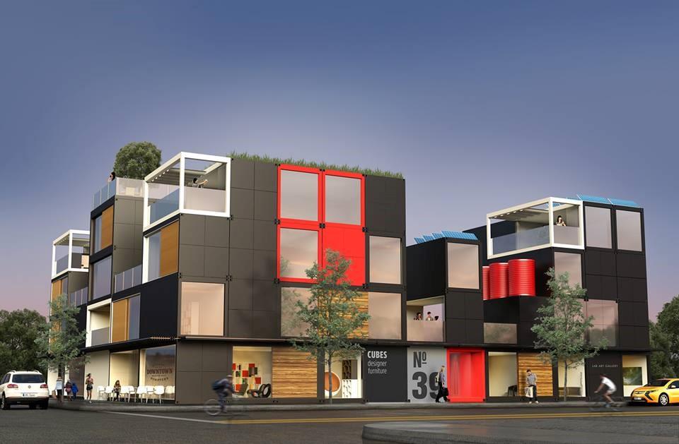 Las casas que diseña y monta en tiempo récord la 'start-up' Blokable