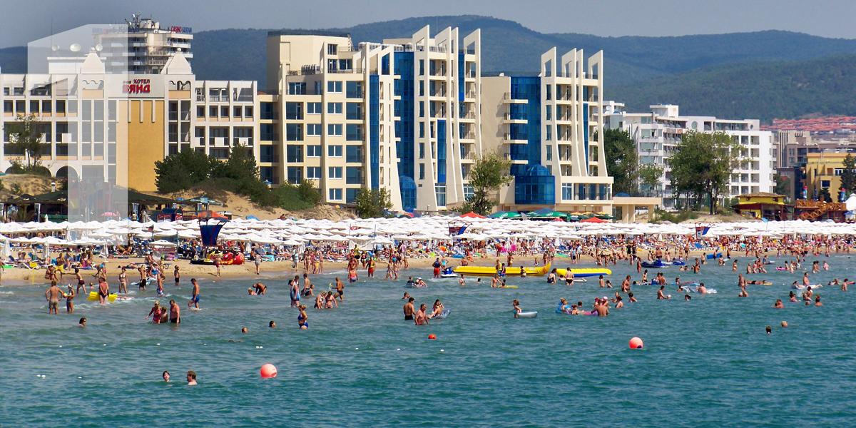 Sunny Beach, Bulgaria: 43.4 libras, 49,6 euros