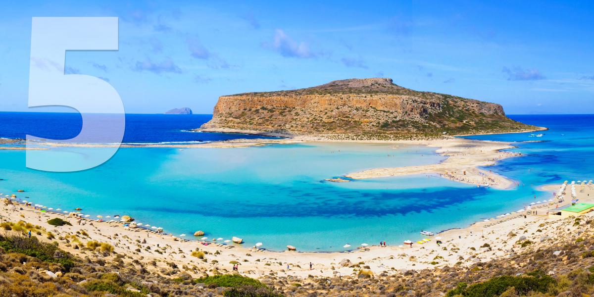 Creta, Grecia: 81.3 libras, 93 euros