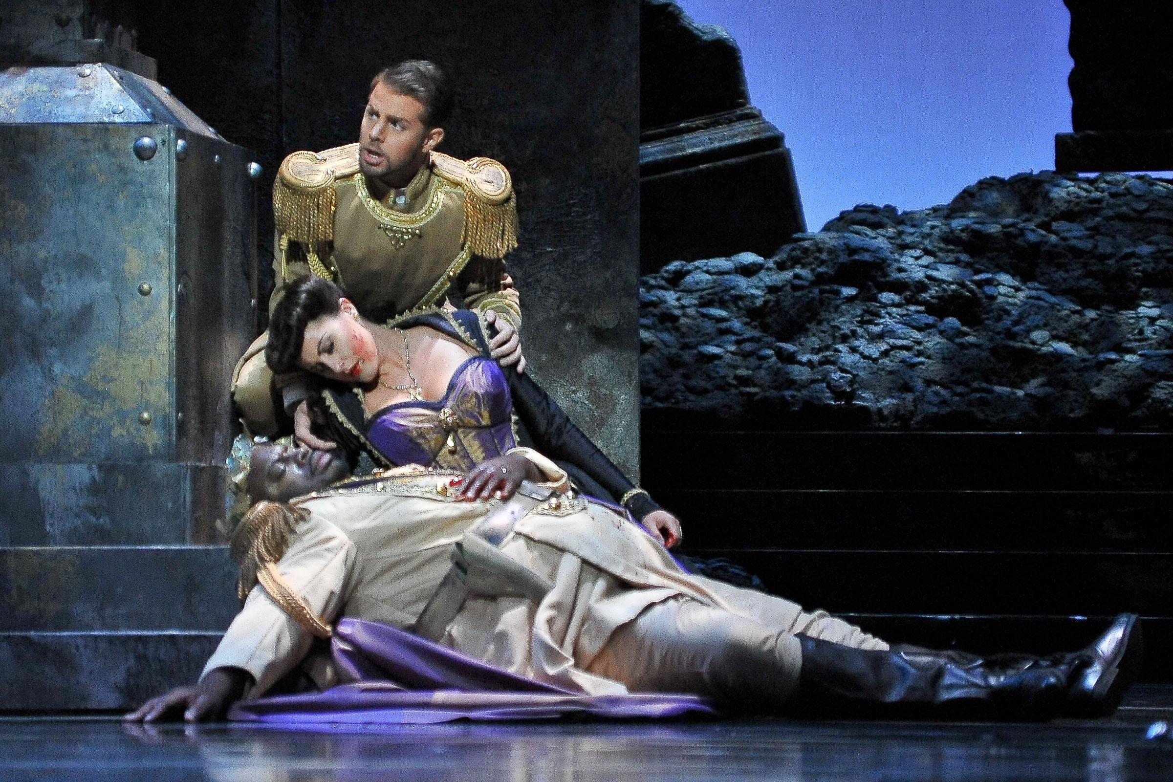 La ópera 'Don Giovanni' de Mozart, en el Teatro Nazionale de Roma