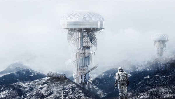 Earth Healer Skyscraper