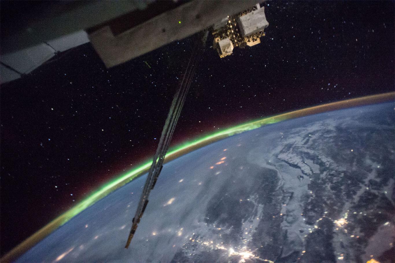 Así se ve la tierra desde el espacio