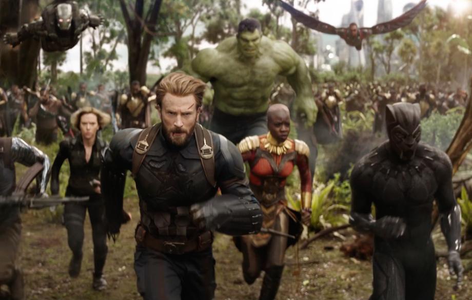 Es la primera vez que se reúnen tantos superhéroes en una película / Marvel