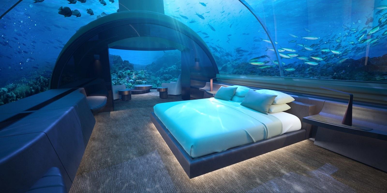 Dormitorio sumergido